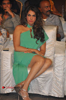 Actress Isha Koppikar Pos in Green Dress at Keshava Telugu Movie Audio Launch .COM 0024.jpg