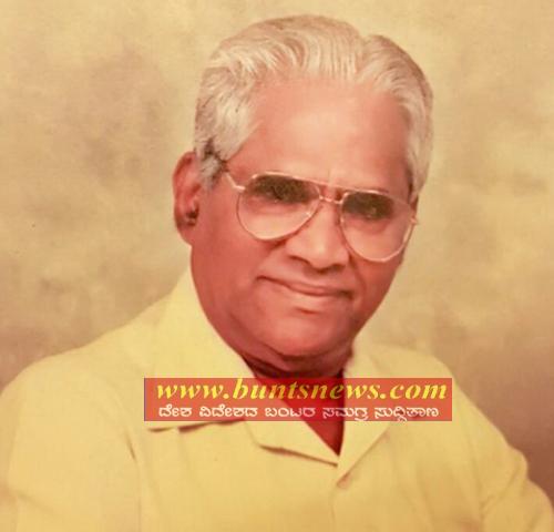 Actor Suniel Shetty's Father Veerapa Shetty Dead