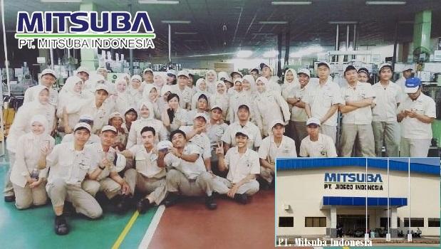 INFO lowongan kerja tebaru PT.MITSUBA INDONESIA