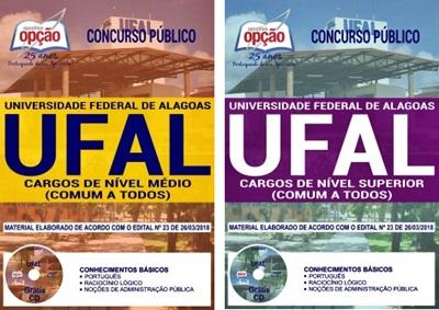 Apostila Concurso UFAL AL 2018