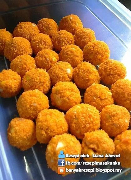 resepi bebola ayam cheese sbs aneka resepi masakan Resepi Masakan Ayam Berkuah Enak dan Mudah