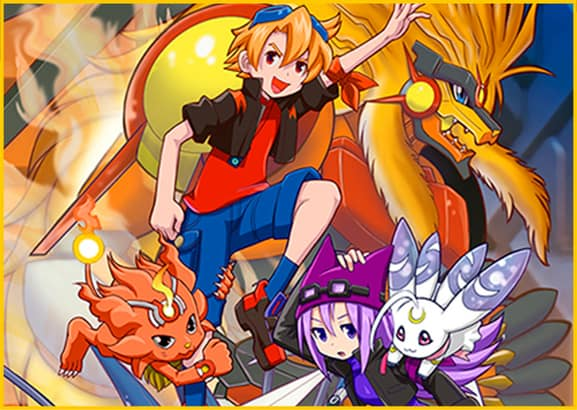 Second Screenshot from the Art Book for Digimon Cyber Sleuth Hacker's Memory