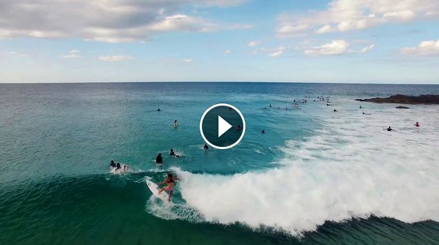 Coco Ho - Gasoline - Surfing Snapper Rocks
