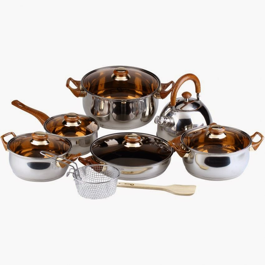 Panci Set Oxone   Oxone Eco Cookware Set 12+2pcs