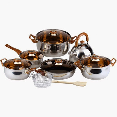 Panci Set Oxone | Oxone Eco Cookware Set 12+2pcs