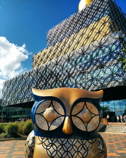 Birmingham City Library and Wise Old Owl