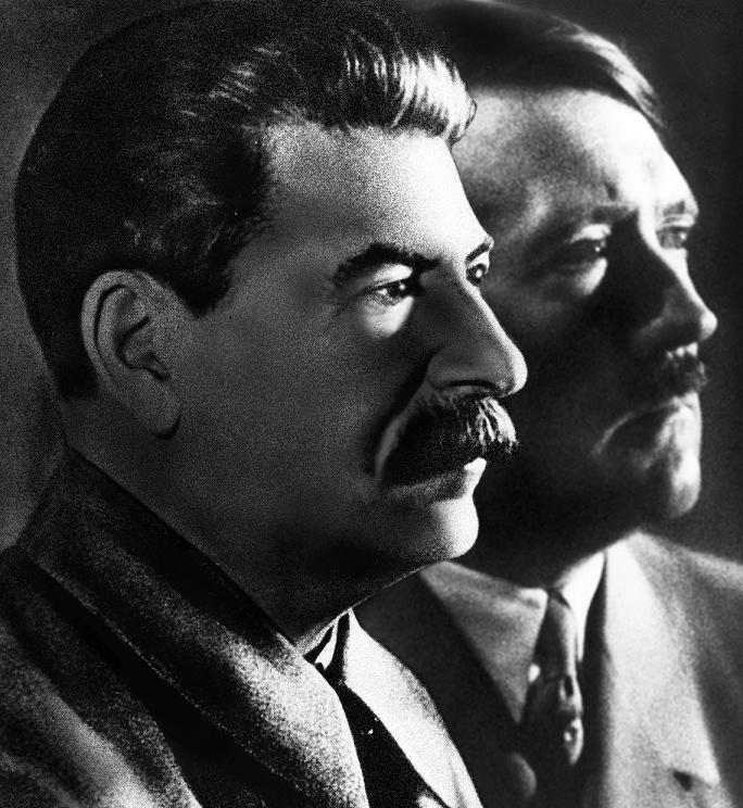 Hitler and stalin rise to power