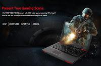 Геймерский ноутбук Bben G17 GTX1060, ультра мощность по разумной цене