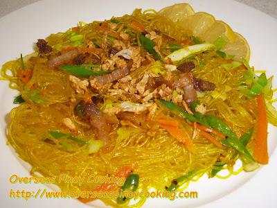 Garlic Sotanghon Dish