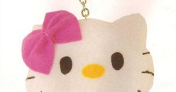 Cara Membuat Boneka Hello Kitty Mini dari Kain Flanel