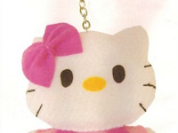 Cara Membuat Boneka Hello Kitty Mini dari Bahan Kain Flanel
