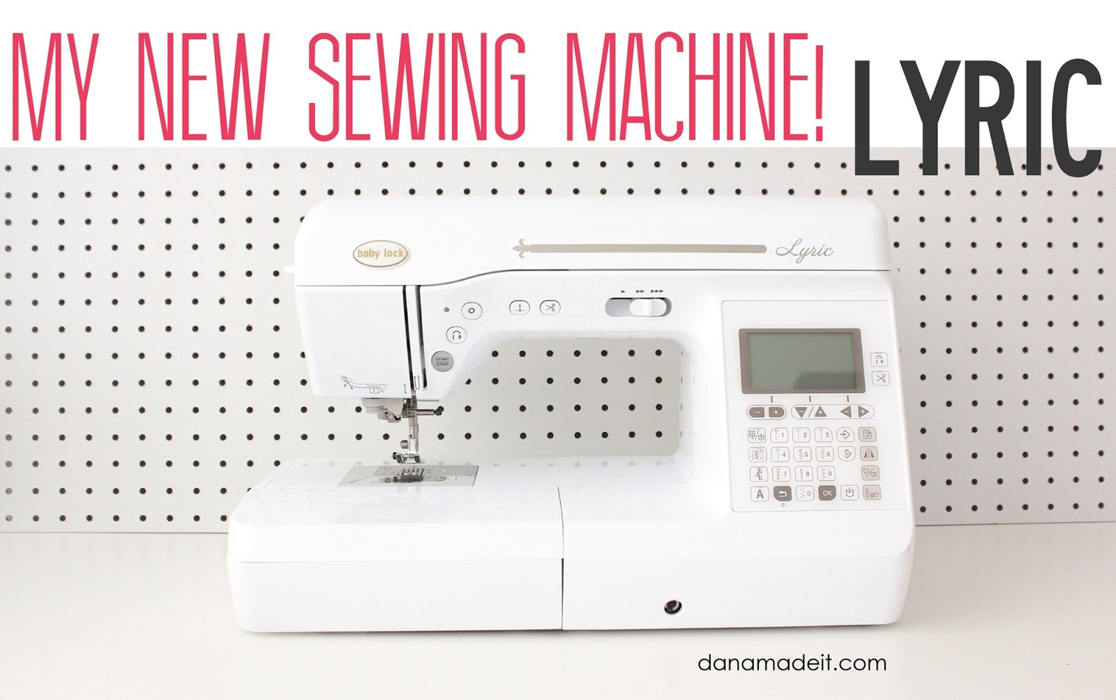 Lyric: My New Sewing Machine!…and How To Pick Your Own