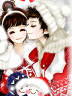 Korean Cartoon Love Couples