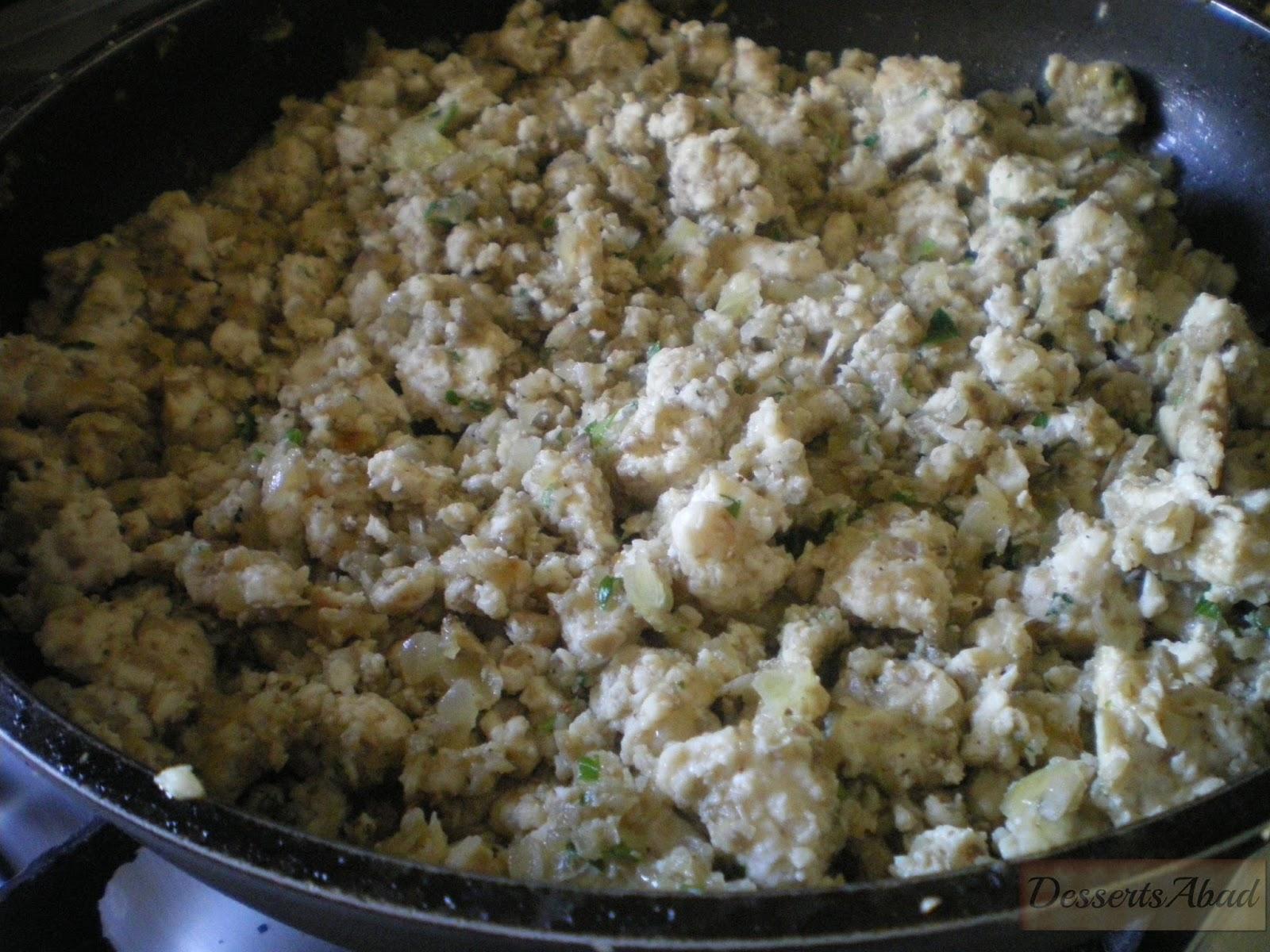 Croissants de pollo: elaboración