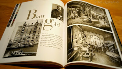 Ein Blick in einen der Beiträge zum Thema Tee in der Zeitschrift mare.