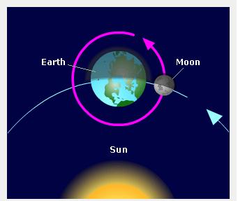 الأرض والشمس والقمر وما لا تعرف عنهم