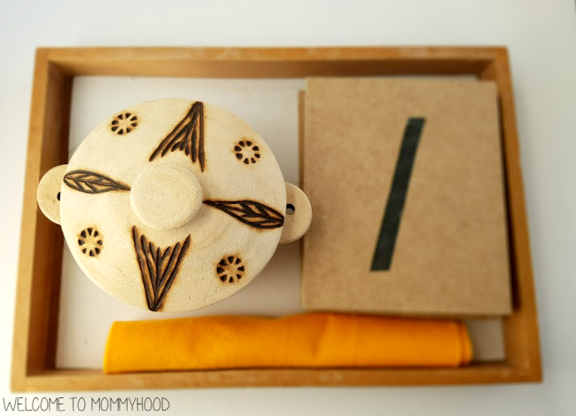 Easy to set up Montessori style activities for toddlers or preschoolers by Welcome to Mommyhood #preschoolactivities, #montessoriactivities, #montessori, #homeschool, #toddleractivities