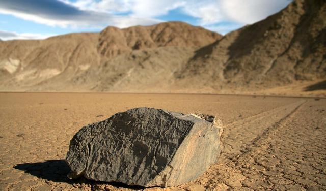 Las piedras de Playa Racetrack