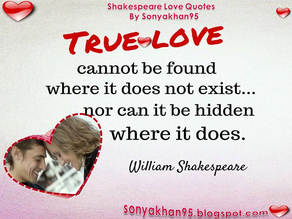 William Shakespeare Love Quotes Delectable William Shakespeare Love Quotes Sonya Khan48 Quotes