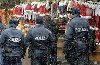 Christmas market in the Germany