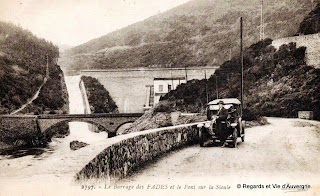 Pont et barrage des Fades.