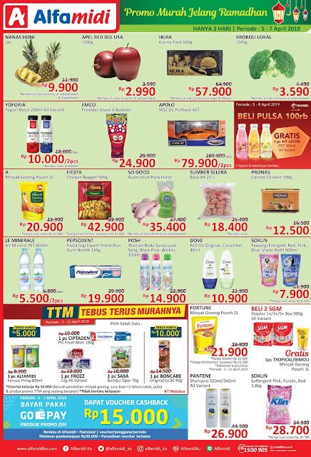 #Alfamidi - #Promo #Katalog JSM Periode 05 - 07 April 2019
