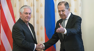 "he asked Lavrov ""several clarifying questions"""