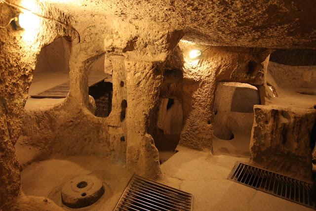 Cidades subterrâneas na Capadócia
