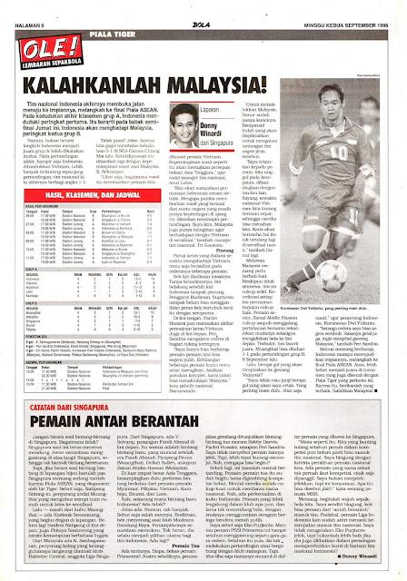 PIALA TIGER: KALAHKANLAH MALAYSIA!