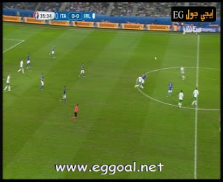 اهداف مباراة ايطاليا وايرلندا 0-1 |الاربعاء 22 يونيو |كأس امم اوروبا 2016