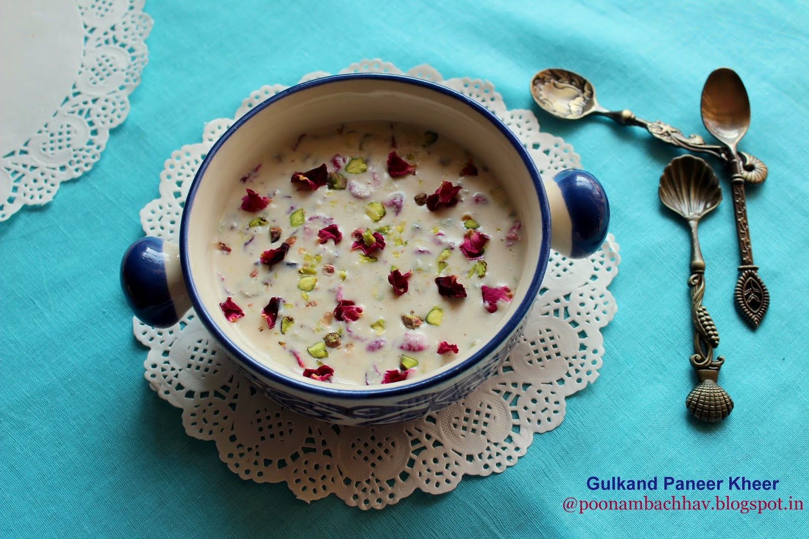 Wondrous Annapurna Gulkand Paneer Kheer Rose Petal Jam Flavored Download Free Architecture Designs Intelgarnamadebymaigaardcom