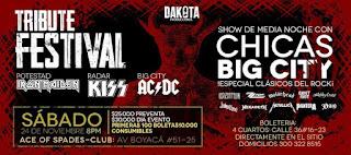 POS TRIBUTE FESTIVAL Rock 2018 Bogotá