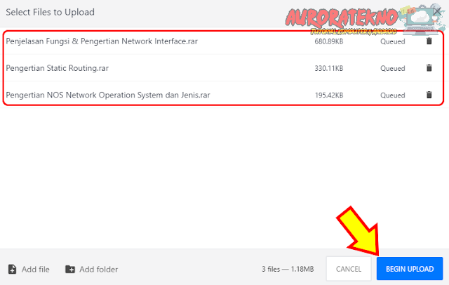 Terbaru!!! 2 Cara Upload File Di MediaFire Dengan Mudah