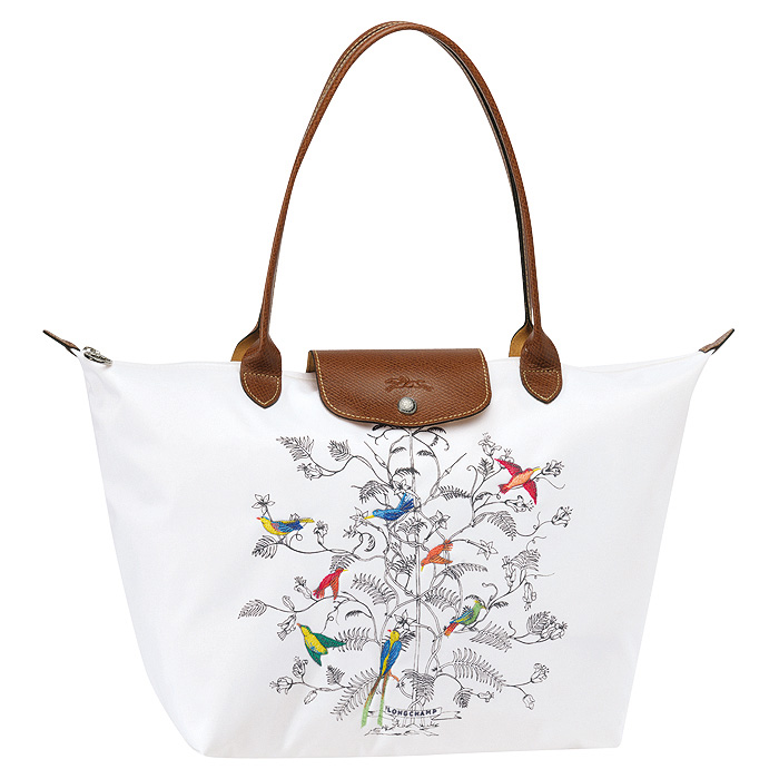 7dbd0f3224 Longchamp Le Pliage Arbre de Vie is part of Longchamp's Spring/Summer 2011  limited edition collection. Translating to