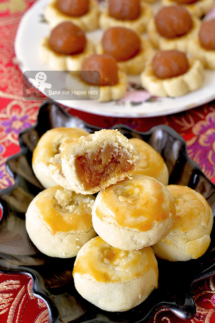 melt in the mouth maple syrup pineapple tarts