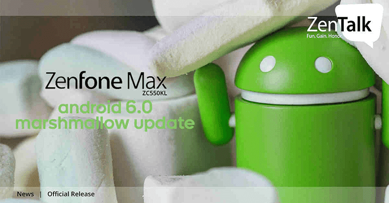 ZenFone Max Marshmallow update
