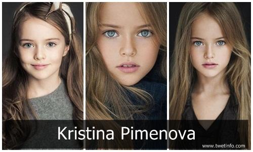 Siapa Kristina Pimenova, Dia Anak Gadis Tercantik di Dunia