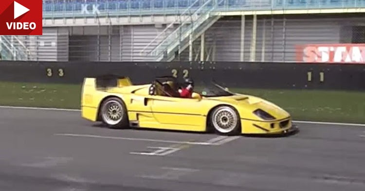 Car Brands Starting With P >> An Open-Top 960hp Ferrari F40 Is As Frightening As It Sounds