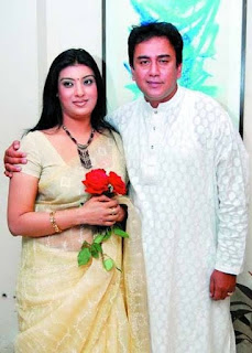 Sadia Islam Mou and her husband Zahid Hassan