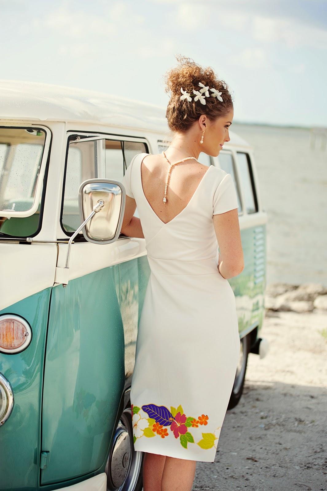 tropical wedding dresses hawaiian wedding dress
