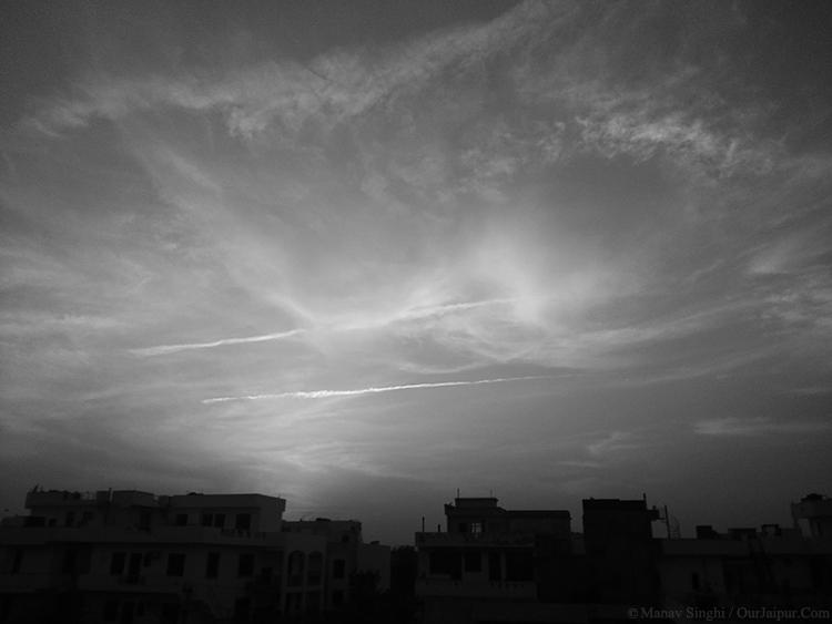 An Evening in Jaipur.
