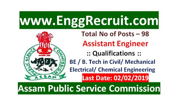 APSC Recruitment 2019