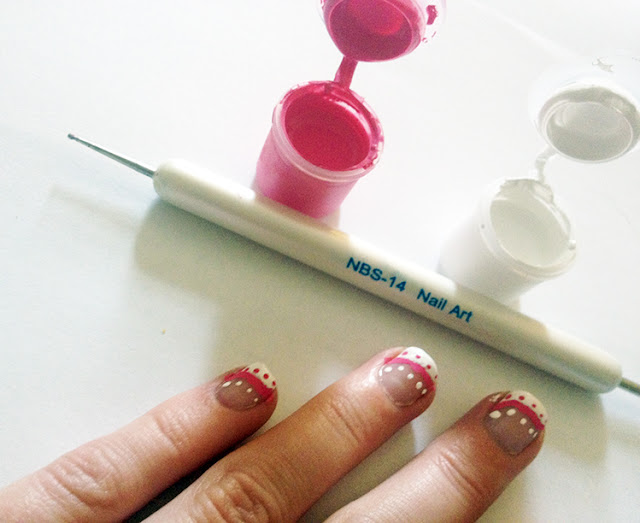Nail Dotting Tool & Paints from Sparkly-Nails