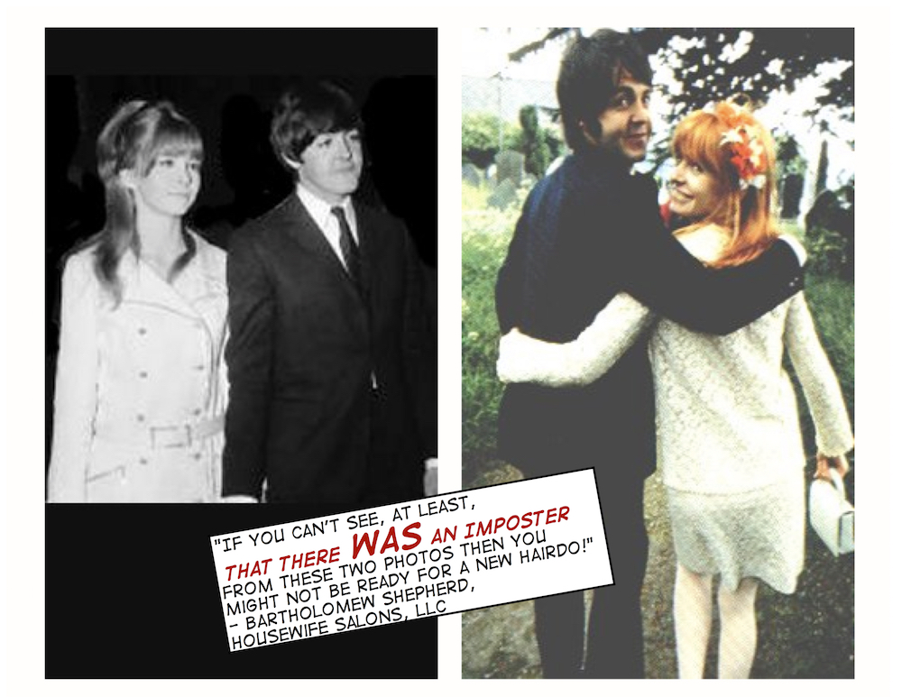 The Brainwashed HouSEWife Sir Paul McCartney Was Phil Ackrill