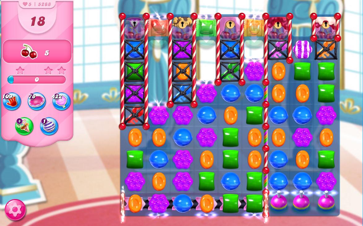 Candy Crush Saga level 5288