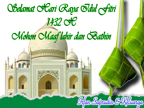 Selamat Hari Raya Idhul Fitri 1432 H Budak Bageur