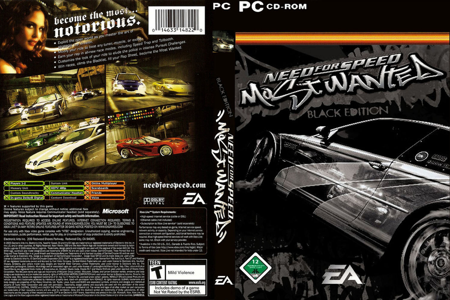Baixar Need For Speed Most Wanted Black Edition RELOADED