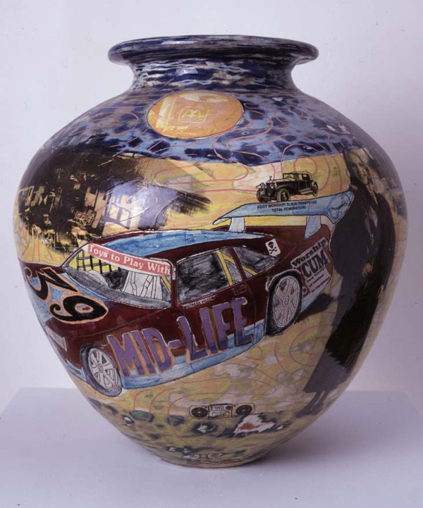 Felt Images The British Word continued  Grayson Perry