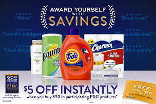 Award Yourself with Savings and P&G Household Items at Shaws