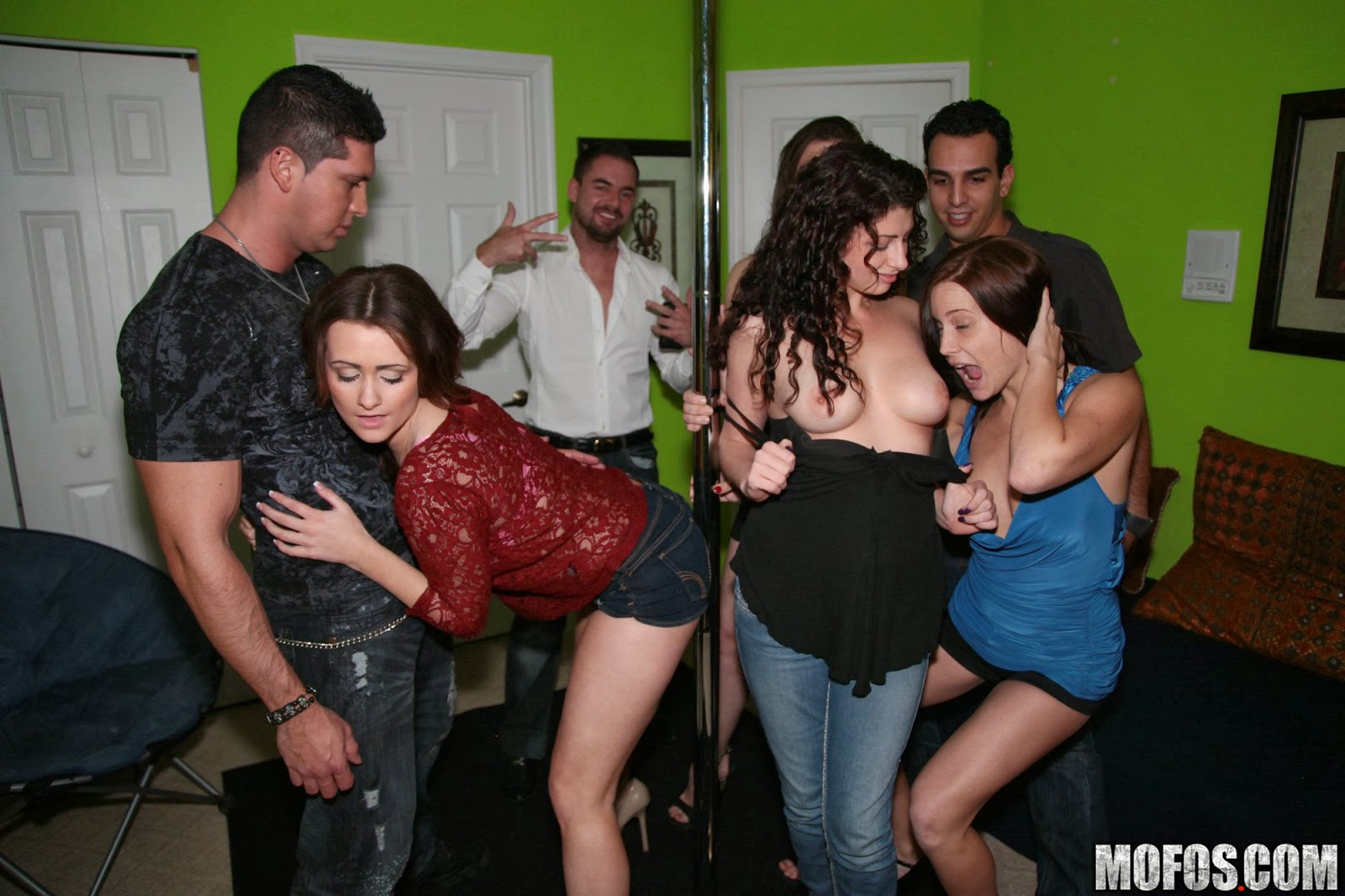 Real slut party allee mack kenna kane victoria lawson - 1 part 9